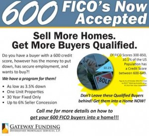 600 Fico Score GWF